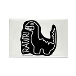 RAWR DINO Rectangle Magnet (100 pack)