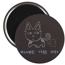 "Blame the Cat 2.25"" Magnet (100 pack)"