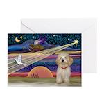 XmasStar Havanese pup Greeting Cards (Pk of 20)