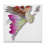 Angel Tile Coaster