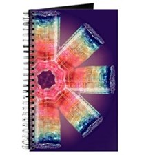Rainbow Crystal Mandala Journal