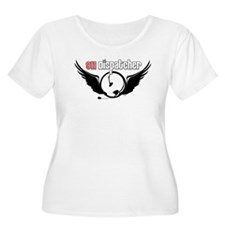 911 Dispatcher Angel Headset T-Shirt