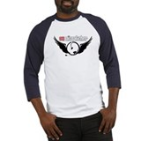 911 Dispatcher Angel Headset Baseball Jersey
