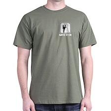Smiling Bride & Groom Game Over T-Shirt