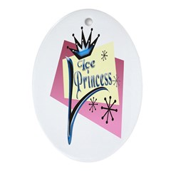 Ice Princess Keepsake (Oval)