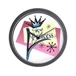 Ice Princess Wall Clock