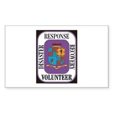 Responder Rectangle Sticker 10 pk)