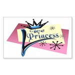 Ice Princess Rectangle Sticker