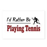 Rather Be Playing Tennis Postcards (Package of 8)