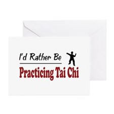 Rather Be Practicing Tai Chi Greeting Cards (Pk of