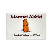 Marmot Addict Rectangle Magnet (10 pack)