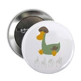 "ASL Duck 2.25"" Button (100 pack)"