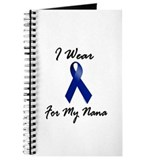 I Wear Blue For My Nana 1 Journal