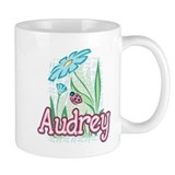 Audrey Ladybug Flower Small Mug