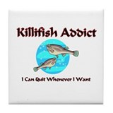Killifish Addict Tile Coaster