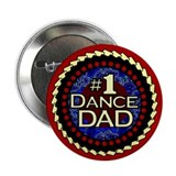 "#1 Dance Dad 2.25"" Button (10 pack)"