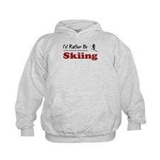 Rather Be Skiing Hoodie