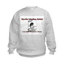Howler Monkey Addict Sweatshirt