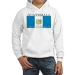 Guatemala Guatemalan Flag Hooded Sweatshirt