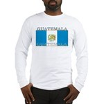 Guatemala Guatemalan Flag Long Sleeve T-Shirt