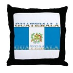 Guatemala Guatemalan Flag Throw Pillow