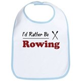 Rather Be Rowing Bib