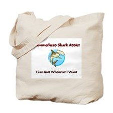 Hammerhead Shark Addict Tote Bag