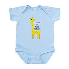 Cute Christian Infant Bodysuit