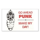Make My Day Rectangle Decal