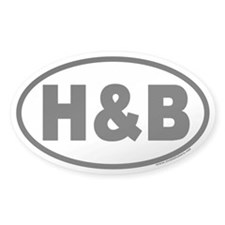 H&B Euro Oval Decal