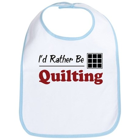 Rather Be Quilting Bib