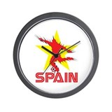 SPAIN 2008 Wall Clock