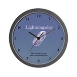 Lightningsday Wall Clock
