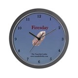 Firesday Wall Clock