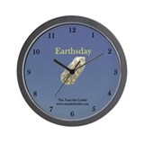 Earthsday Wall Clock
