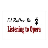 Rather Be Listening to Opera Postcards (Package of