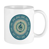 Colorful Circle of Fifths Mug