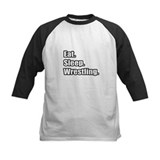 """Eat. Sleep. Wrestling."" Tee"