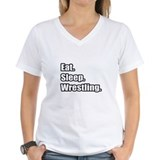 """Eat. Sleep. Wrestling."" Shirt"