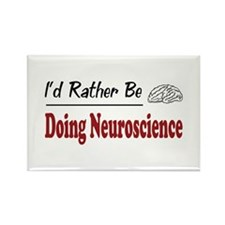 Rather Be Doing Neuroscience Rectangle Magnet