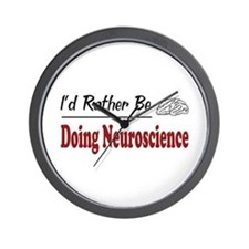 Rather Be Doing Neuroscience Wall Clock