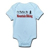 Rather Be Mountain Biking Infant Bodysuit