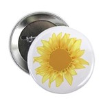 "Elegant Sunflower 2.25"" Button (100 pack)"