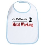Rather Be Metal Working Bib