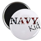 Navy Kid (Flag) 2.25&quot; Magnet (10 pack)