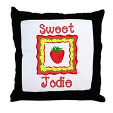 Sweet Jodie Throw Pillow