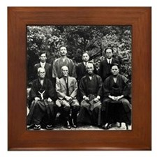 Meeting of the Okinawan Masters (1936) Framed Tile