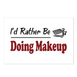 Rather Be Doing Makeup Postcards (Package of 8)