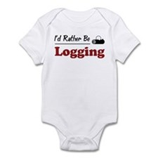 Rather Be Logging Infant Bodysuit