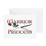 Warrior Princess Greeting Cards (Pk of 10)